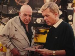 Directing Telly Savalas on Titanic Expedition